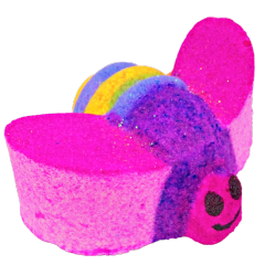 Rainbow Bumble Fizzy Bath Bomb VEGAN